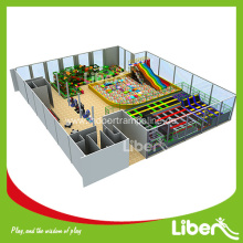 Customized long gymnastic indoor kids trampoline